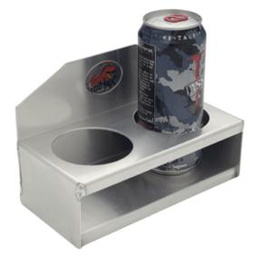 Aluminum 2 Cup Holder