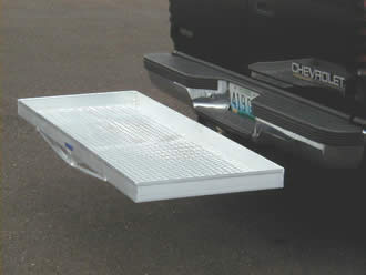 Aluminum Cargo Hitch Carrier 500lb Capacity